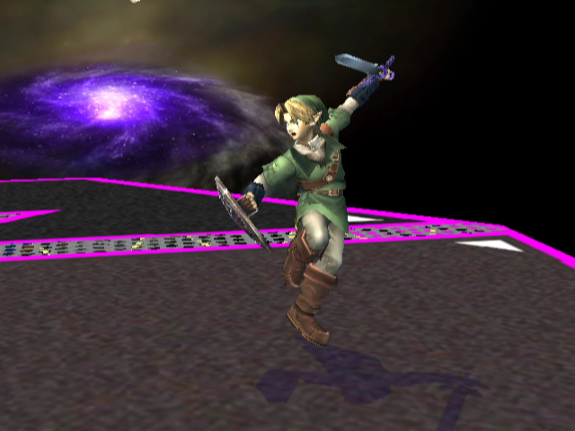Link is prepared for battle!